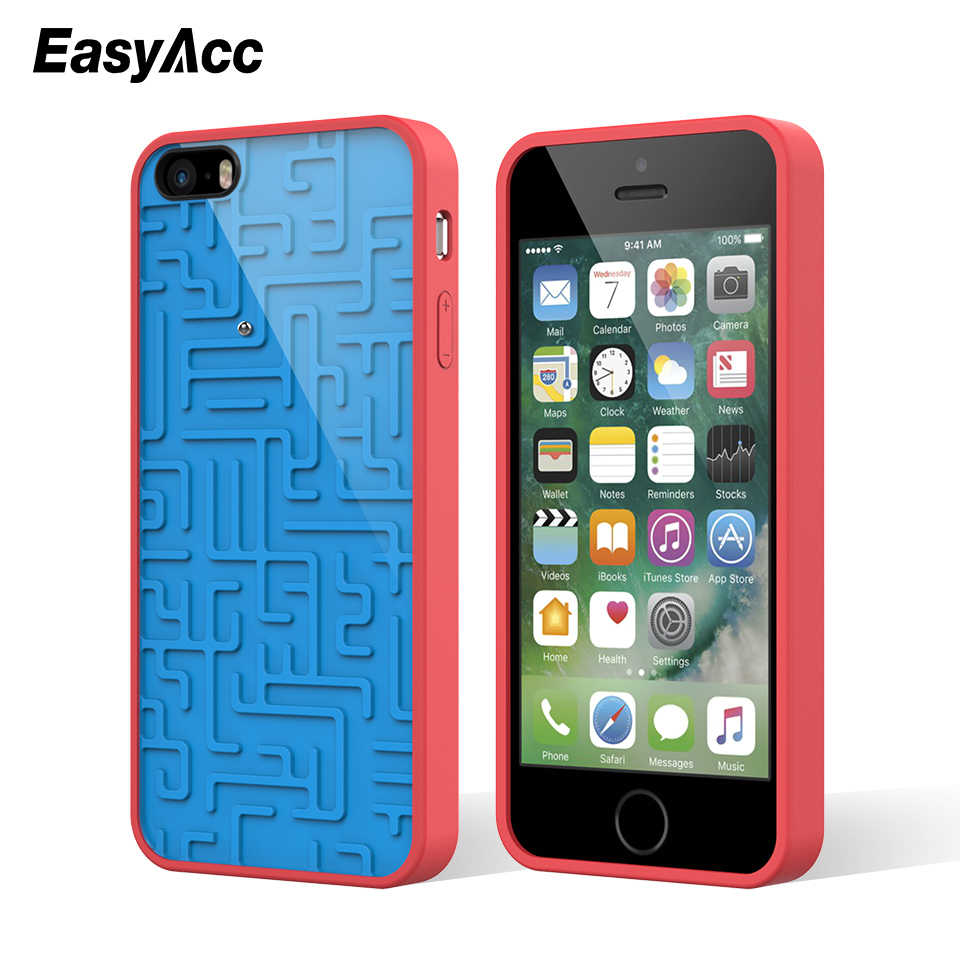 3D Intellectual Phone Case Creative Relax Funny Silicone maze Map