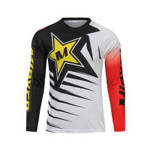 Mieyco Cycling Jersey Man Mountain Downhill Bike DH RBX Bicycle Racing Clothes Off-Road Motocross Maillot MTB Shirt