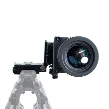 Тактический 3X увеличительные приборы оптика Охота прицел Прицелы Красный точка зрения с откидной крышкой подходит для 20 мм винтовка пистол...