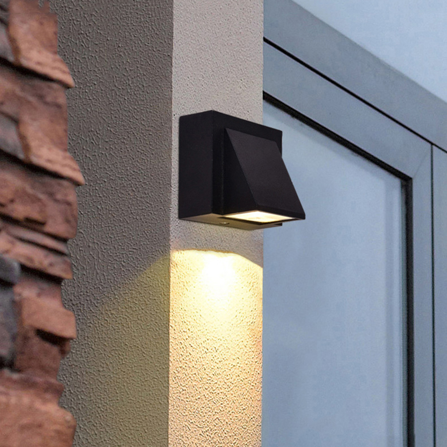 Lamps & Shades The Best Beiaidi 18w Waterproof Led Wall Lamp Outdoor Courtyard Garden Corridor Porch Light Aluminum Aisle Balcony Ceiling Wall Light Evident Effect