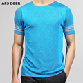 2017 Spring Summer T shirts Men Fashion Curling Short-Sleeved Sweater Slim Fit Solid Vintage Tees Casual Undershirt Top Tees