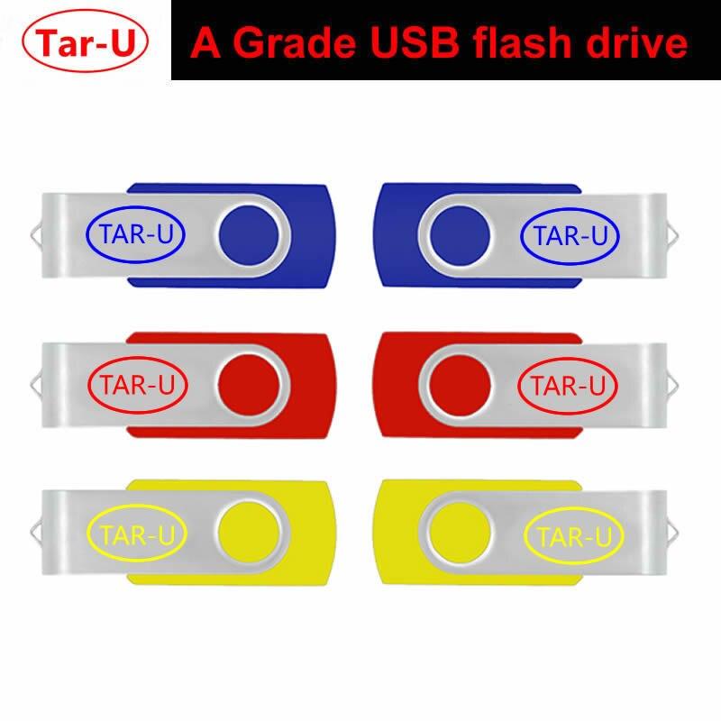 Cheapest 32GB 16GB 8GB 4GB USB flash drive swivel USB flash pendrive with free shipping cost