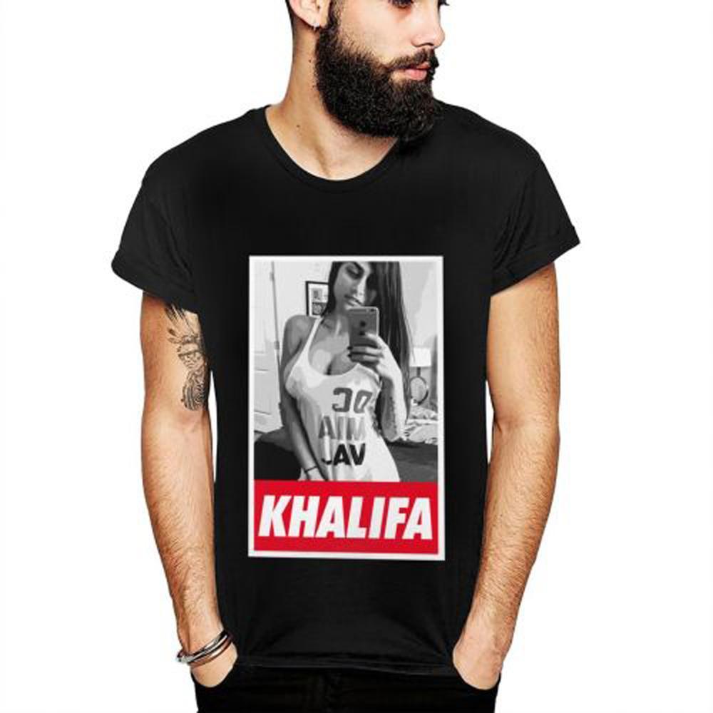 Men's Tee S-6XL Plus Size Mia Khalifa T SHIRT Casual T-shirt For Men Abstract T-Shirt Top Design New Arrival Hot Sale