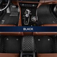 Car Floor Mats For Chrysler Sebring 300C PT Cruiser Grand Voyaer Fit Hummer H2 For SWM