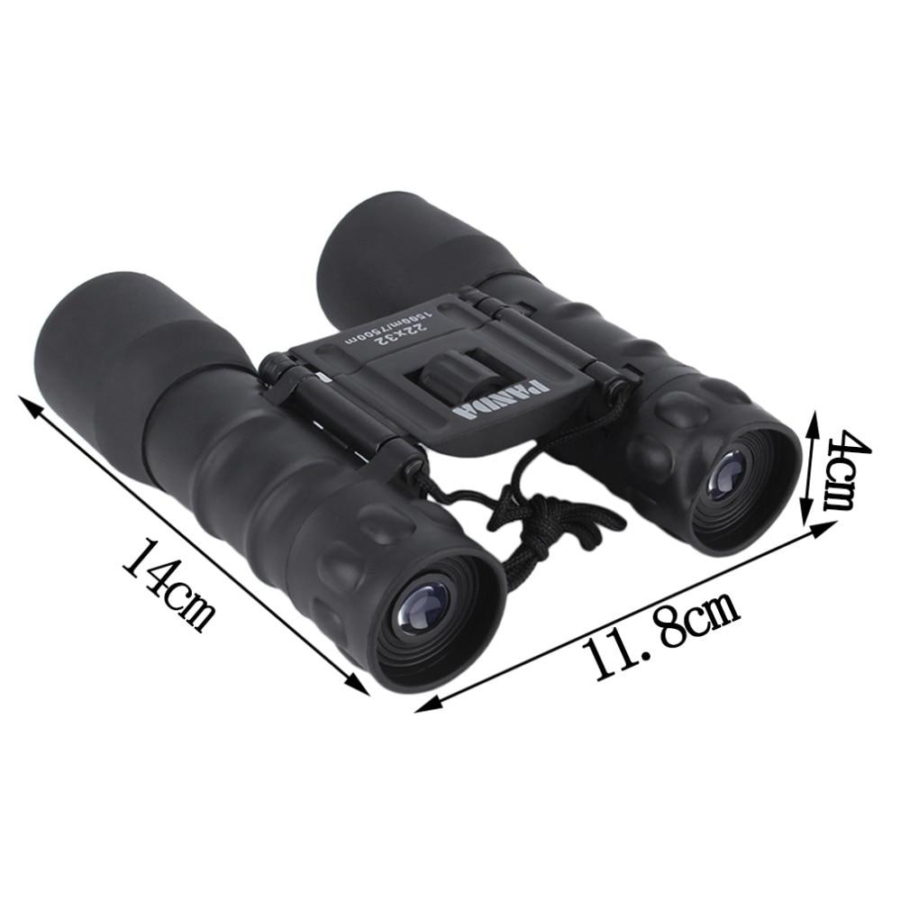Outdoor Portable Folding Day Night 22x32 Binoculars Telescope (150m-750m) Zoom High Magnification Night Vision Binoculars hot