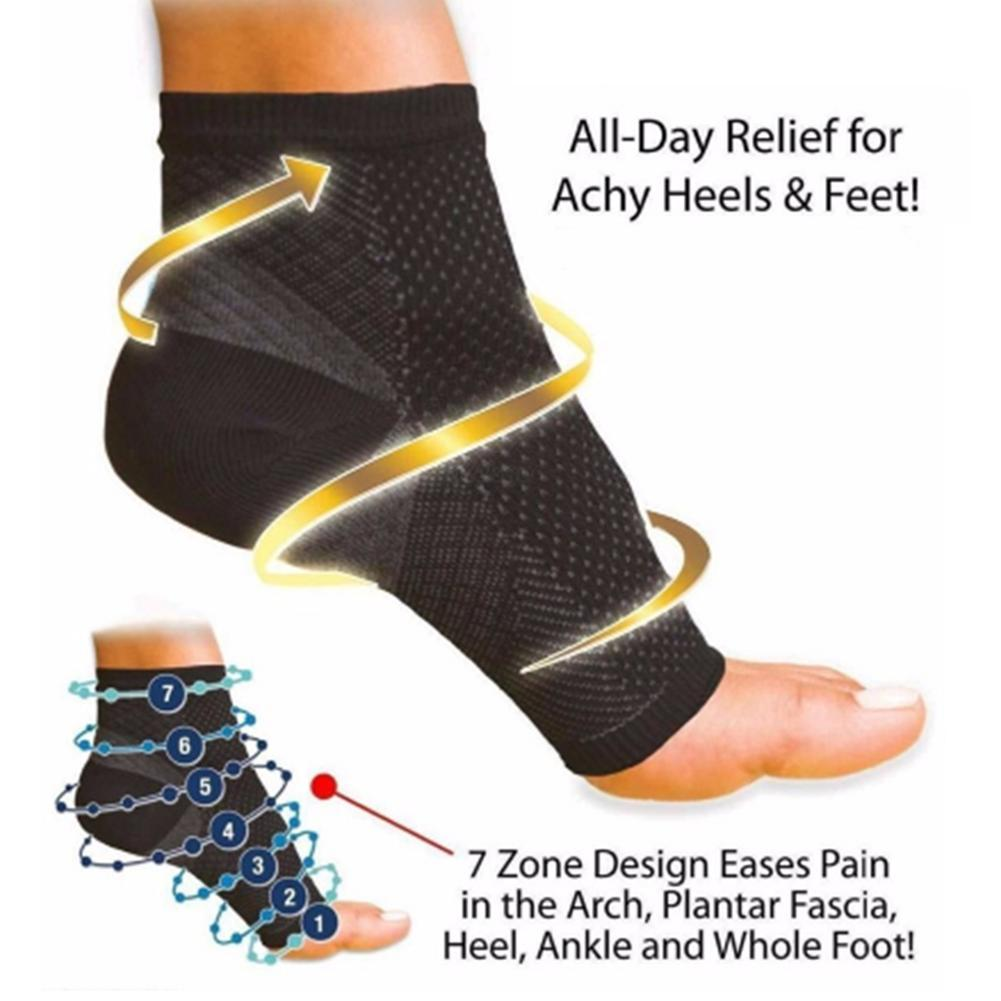 Foot Ankle support Compression Socks anti fatigue Pain relieve Bone care angel