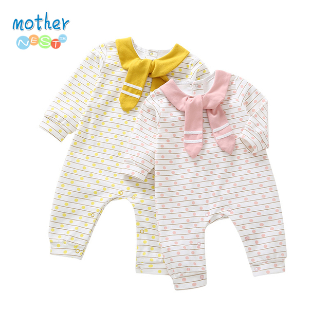 8db65dd9b Mother Nest Baby Onesie Long Sleeve Jumpsuit New born Baby Clothes ...
