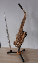 Free shipping Alto saxophone flute multi-purpose display shelf bracket aircraft missions high saxophone