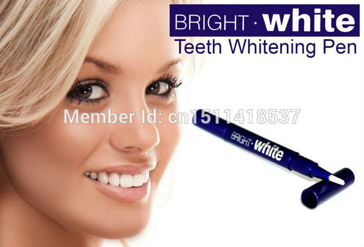 Teeth Whitening Pen Tooth Gel Whitener Bleaching System Stain Eraser Remove PH Neutral ...