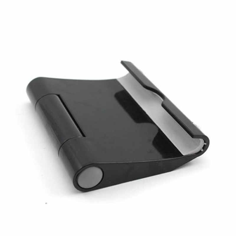 Cómodo Mini soporte de escritorio soporte de montaje de la cuna para teléfono inteligente 4-10 pulgadas Tableta Negro caliente