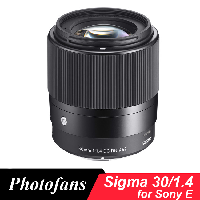 Sigma 30mm f/1.4 DC DN Contemporary Lens for Sony E A5000 A6000 A6300 A6500 sony a6500