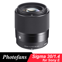 Sigma 30mm f1.4 DC DN Contemporary Lens for Sony E A5000 A6000 A6300 A6500