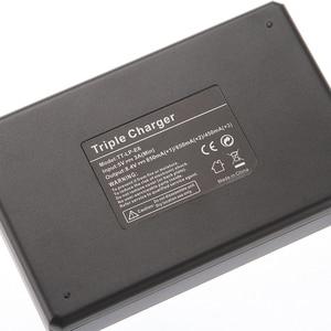 Image 4 - LCD الثلاثي 3 شاحن بطارية USB لكانون LP E6 (N) 6D 5D مارك II III IV 80D 70D
