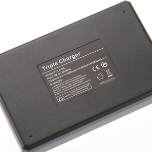 Image 4 - LCD Triple 3 Battery Charger USB For Canon LP E6(N) 6D 5D Mark II III IV 80D 70D