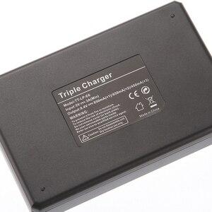 Image 4 - Lcd 트리플 3 배터리 충전기 usb 캐논 LP E6 (n) 6d 5d 마크 ii iii iv 80d 70d