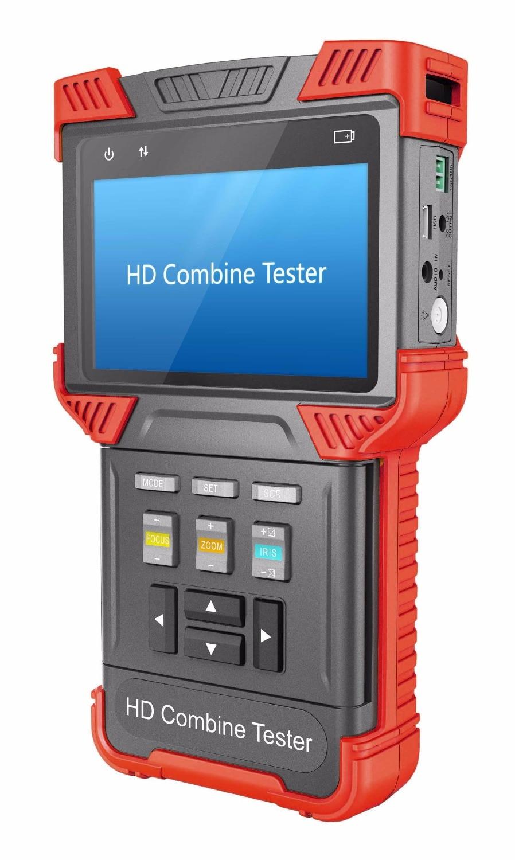 TVI AHD Camera Tester,Multifunction 3-in-1 Tester, CCTV HD Combine Tester