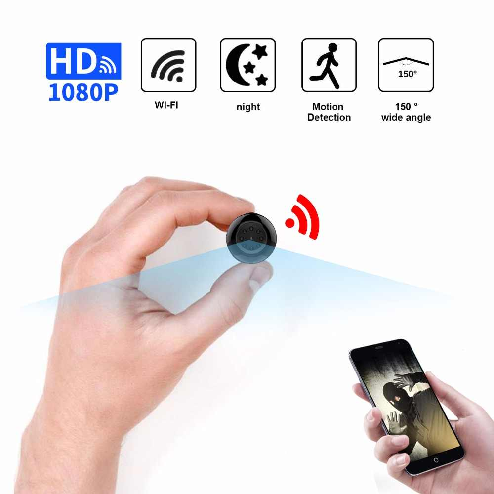 WiFi Mini camera 1080P HD wireless video recorder small micro cam Motion Detection Night Vision Baby Monitor ip dvr camcorder