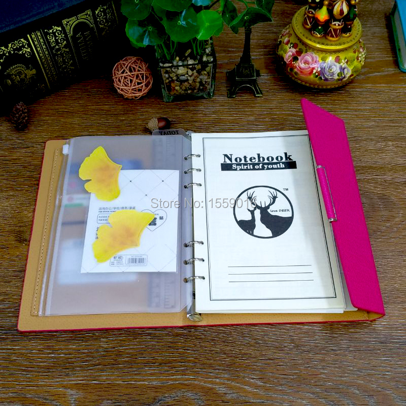 A5 notepad binder folder