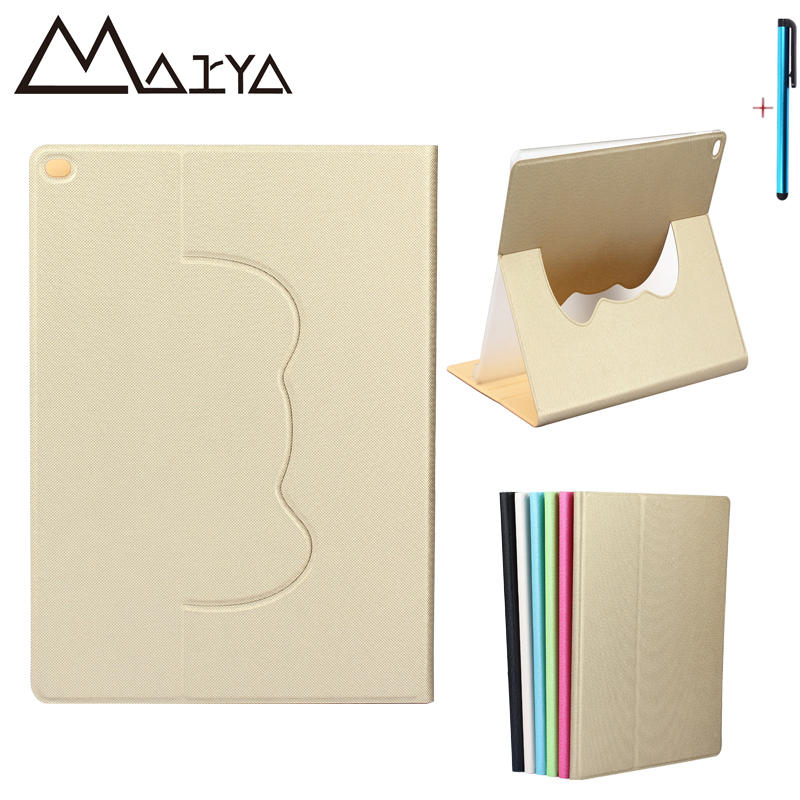 Case For iPad Pro 12.9 Tablet 360 Degree Rotating Smart Ultra Thin Flip Stand PU Leather Case For iPad Pro 12.9 Protective Shell ultra thin smart flip pu leather cover for lenovo tab 2 a10 30 70f x30f x30m 10 1 tablet case screen protector stylus pen