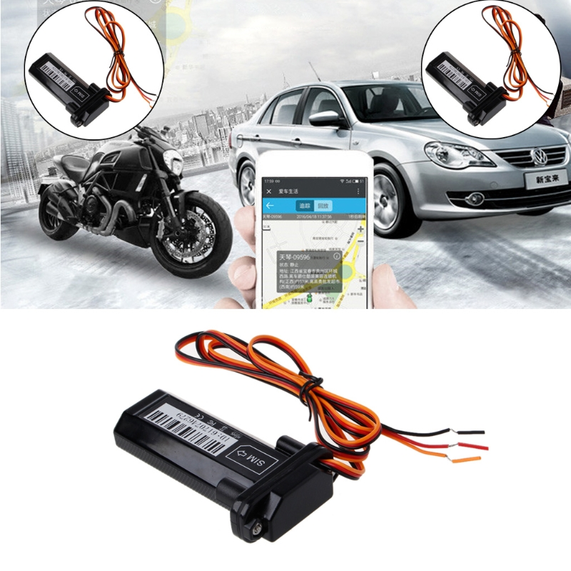 Car Motorcycle GSM GPS Tracker Locator Global Real Time Tracking Device 5M Vehicle GPS Trackers GPS Glonass Galileo Compass car gprs gps tracker real time vehicle locator waterproof ip66 gps 5m positioning accuracy tracking device gps tracker