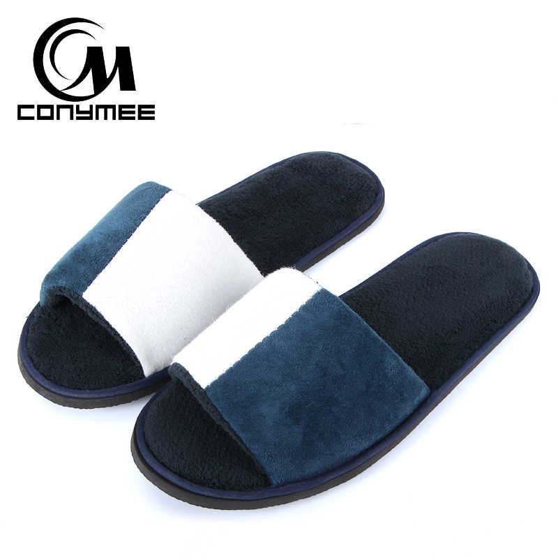 Home Slippers Couple Winter Shoes Casual Sneakers Soft Velvet Men Women Indoor Slipper Pantufa Warm Cotton Erkek Terlik Shoe