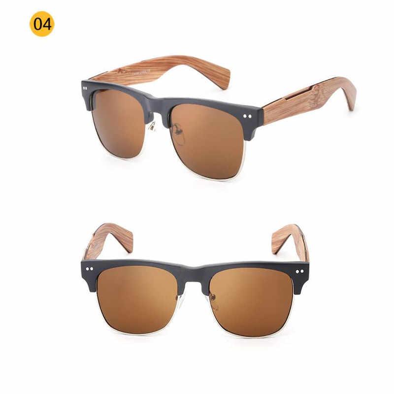 1135c977cb9 ... 2017 Retro Imitate Bamboo Wood Sunglasses Men Women Brand Designer  Goggles Gold Mirror Sun Glasses Shades