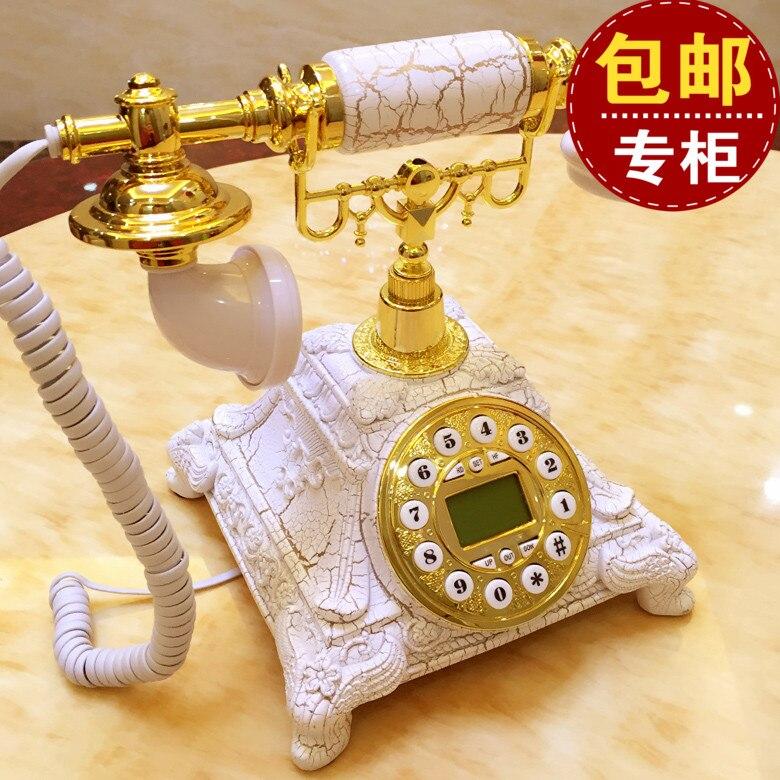 Telefono antico telefono fisso quadrante New Retro delle famiglie Europee soggiornoTelefono antico telefono fisso quadrante New Retro delle famiglie Europee soggiorno