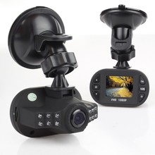 "1.5"" Screen Auto Camera Car DVR Night Vision Dash Cam Mini DVR 1080p Video Recorder Registrator Car Black Box Dashcam 12 LEDS(China)"