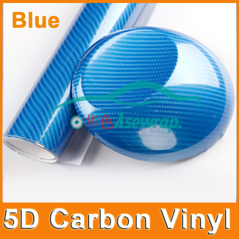 "50X152CM (20 ""X60"") / Veliko visoko sijajni 5D ogljikovih vlaken Vinil 5D ogljikovih vlaken 5D ogljikovih vlaken film za motorna kolesa"