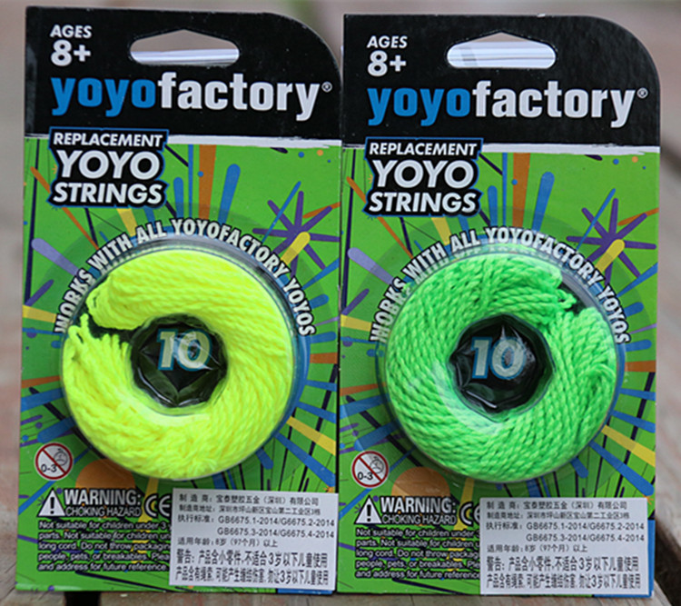 Yoyofactory  REPLACEMENT YOYO STRINGS  10 PCS YOYO STRINGS For Professional Competition