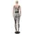 Nova Chegada 2016 Verão Bodycon Jumpsuit Mulheres Moda Leopard Longo Bodysuit O-pescoço Sem Mangas Sexy Clube Macacões E Roupas para Bebês