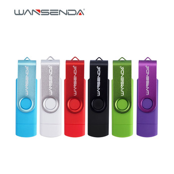 Original Wansenda Brand New OTG Pen Drive s100 128GB 64GB 32GB 16GB 8GB 4GB USB Flash Drive USB 2.0 pendrive for Android devices