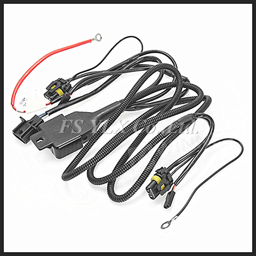 Lo Beam Bi Xenon Relay Harness For Hid