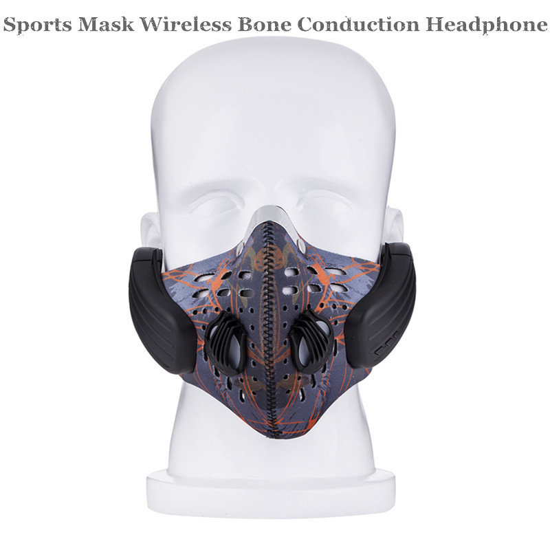 LEAD-OUT Bluetooth V4.1 Wireless Earphones Sports Masks Dustproof Stereo Portable Perfect Design Bone Conduction Headphones