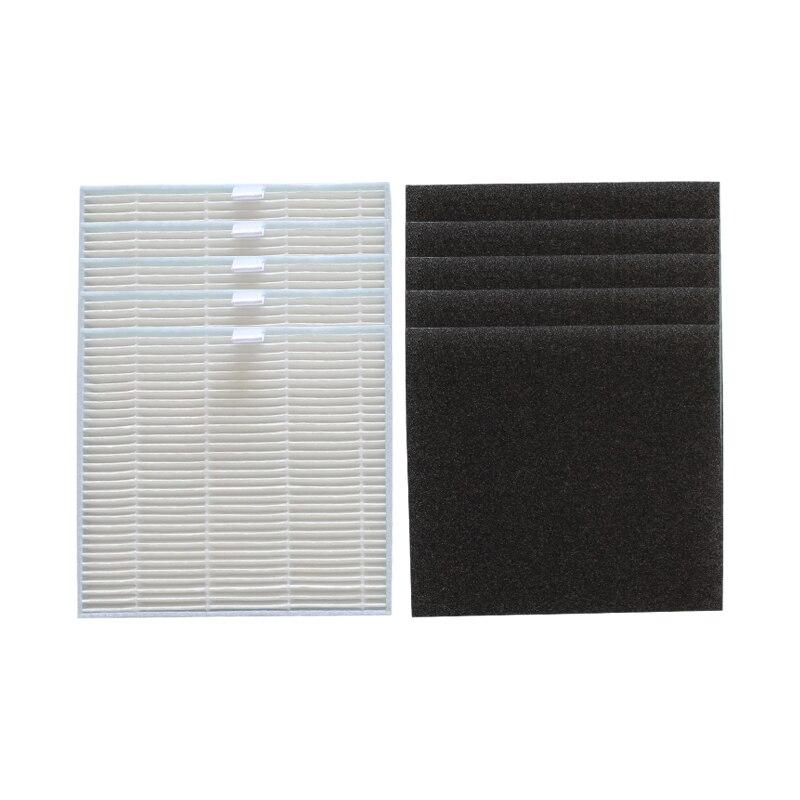 10 pçs/lote filtro Hepa filtro de Esponja para o ilife V8 V8s X750 X800 X785 V80 aspirador hepa filtro de substituição do filtro partes