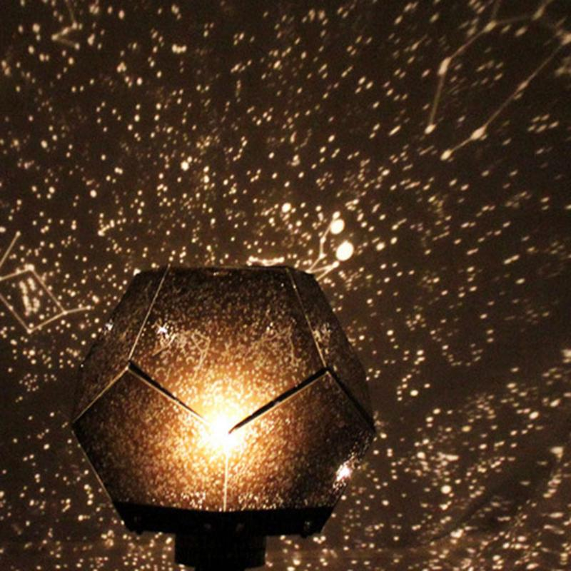 Romantic Astro Star Sky Laser Projector Cosmos Starry Projection Night Light Projection Lamp Atmosphere Starlight 3 Colors the starry sky iraqis projection lamp home night light for christmas