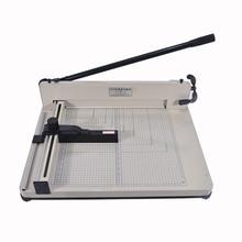 Рабочий стол стек Бумага гильотины cutter 858-a3 Размер Бумага Резка машина Максимальная ширина 40 мм