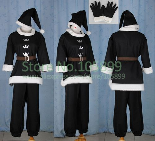 Sora Christmas Town Cosplay.Sora Cosplay Costume Christmas Town From Kingdom Hearts On