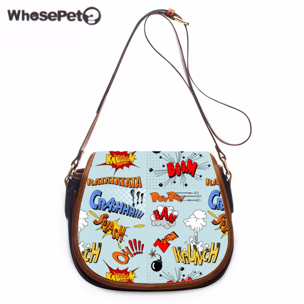 WHOSEPET Comic Handbags Casual Portable Bags Casual Portable Bags Fresh Female Crossbody Shoulder Bags Mini Clutch Purse Bag New oreimo comic anthology