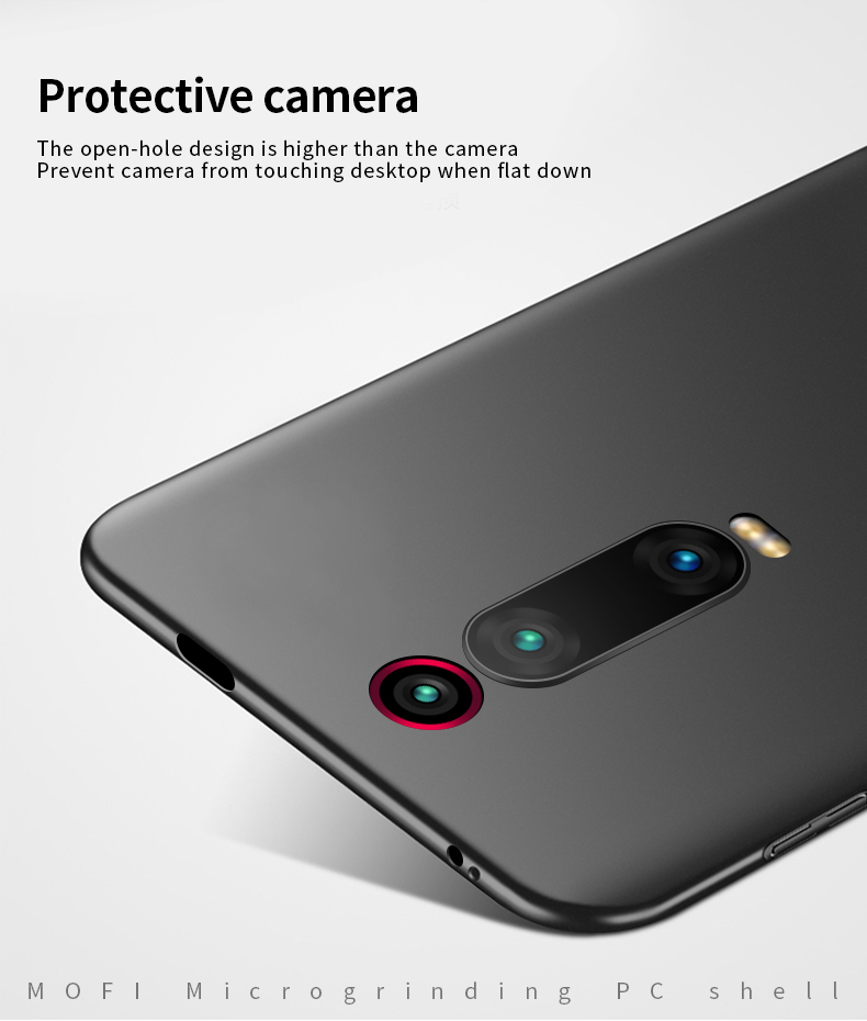 MOFi For Xiaomi Mi 9T Mi 9T Pro Cover Case PC Hard Luxury Protection Back Cover For Xiaomi Mi 9T Pro Fundas Phone Shell in Half wrapped Cases from Cellphones Telecommunications