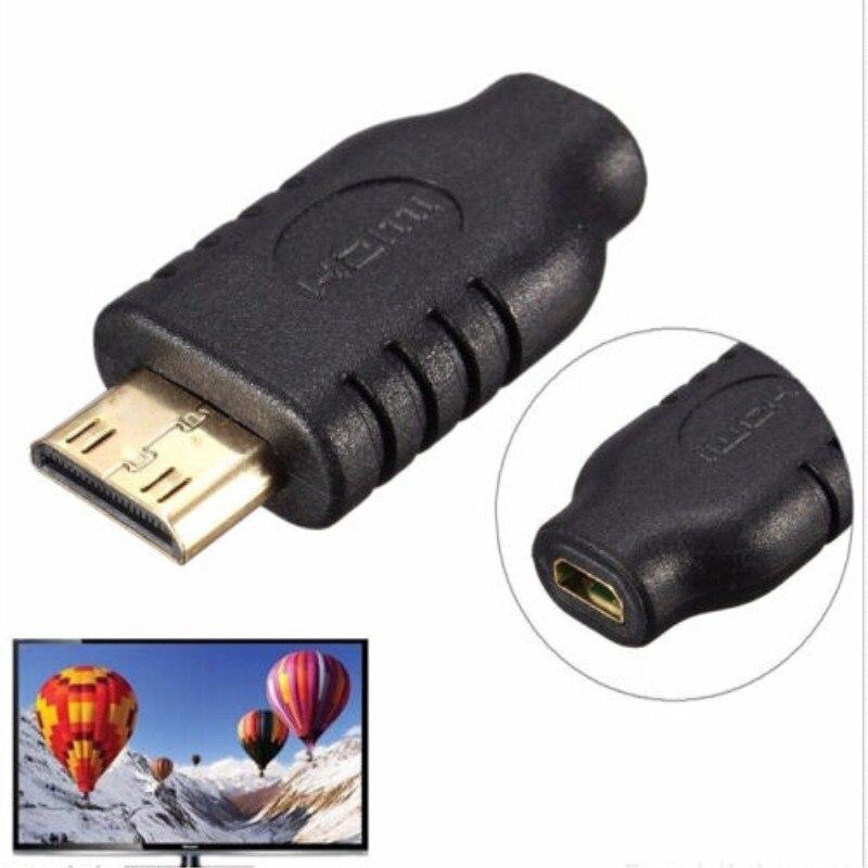 Minihdmi  TO Micro HDMI Adapter miniHDMI Male to Micro HDMI Female Display Conventer hdmi female to micro hdmi male adapter