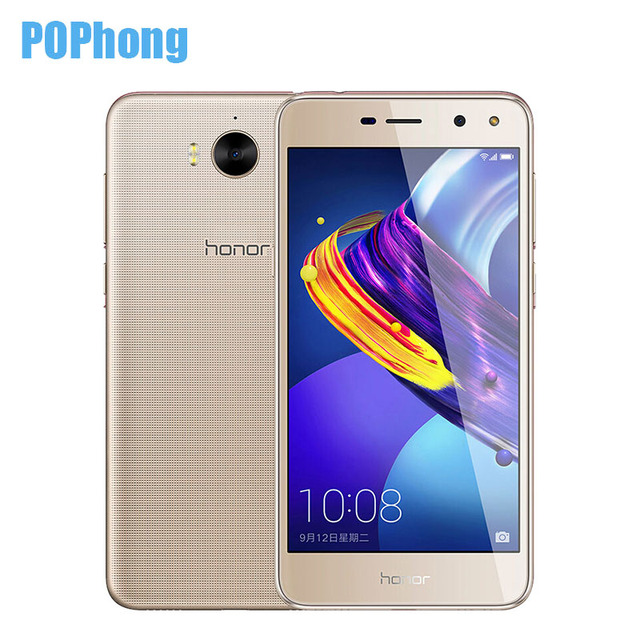 Huawei Y5 2017 Phone Dual SIM 2G 16G Huawei Honor Play 6 Mobile Phone  Android 6 0 MT6737T Quad Core 5 0''HD 8 0MP OTA update-in Mobile Phones  from