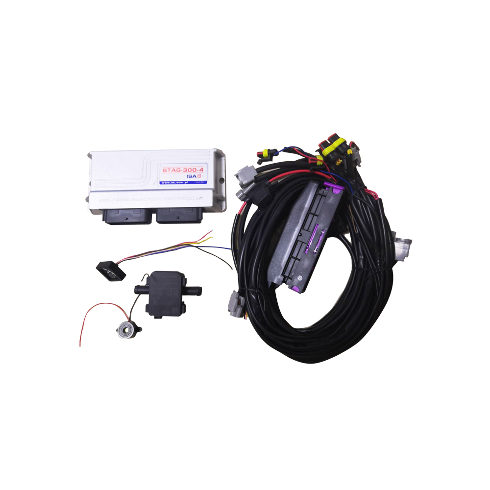 4/6/8 Cylinder AC300 GAS System ECU For LPG CNG Concersion Kit