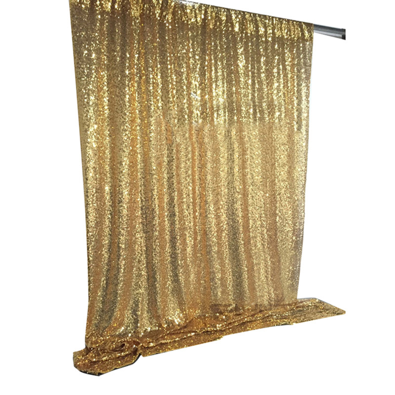 Marious Colorful 10FT*10FT sequin backdrop event party customized stage Wedding Photo Booth drape decoration Free shippping