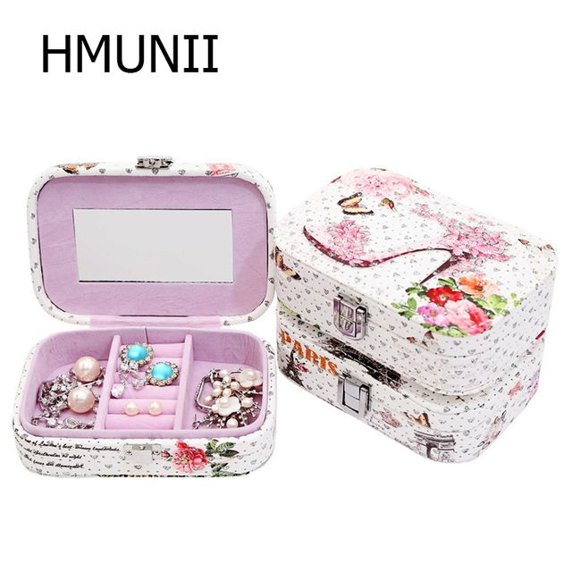 Fashion Cosmetic Bags Makeup Bag Women Travel Jewelry Box Professional Storage Brush Necessaries Make Up Organizer storage box