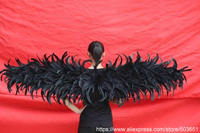 adults Black devil angel wings fairy wings large size show shooting stage performance catwalk fashion props EMS free shipping