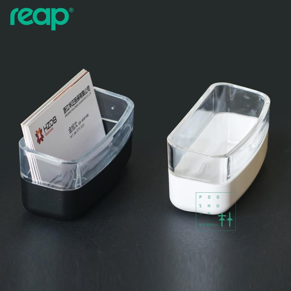 5002 Acrylic tabletop Card Racks Plastic desk Business Card Name ...