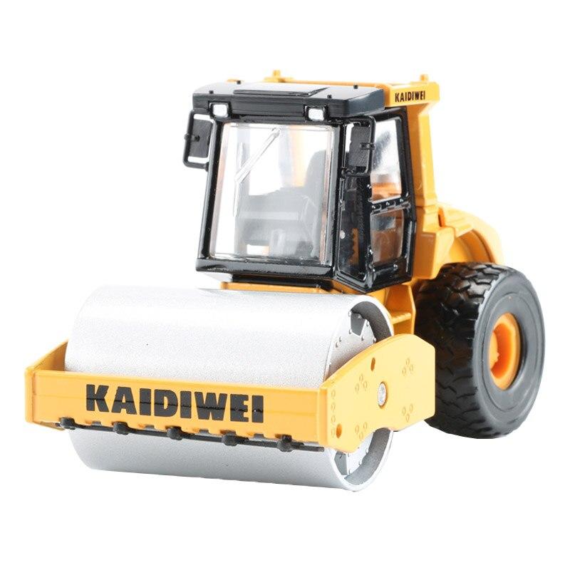 KDW 13.5 cm rouleau compresseur Machines Trcuk Modèle Alliage Collection D'ingénierie jouet voiture Pour Enfants