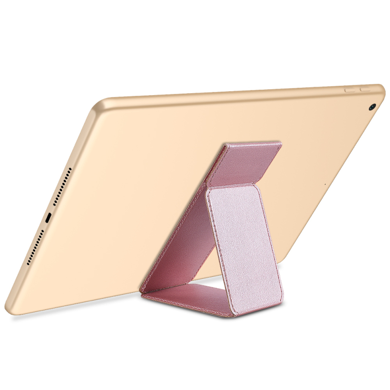 Universal Tablet Stand For IPad Holder Support Portable PU Kickstand Folded Hand Strap For Android Samsung Tab Grip Desk Adjust