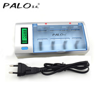 Multi Usage LCD Display Battery Charger For Nimh Nicd AA AAA SC C D 9V Size